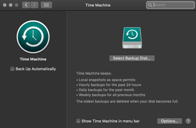 Mac's Time Machine